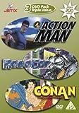 Action Man/Robocop/Conan The Adventurer [DVD] [UK Import]