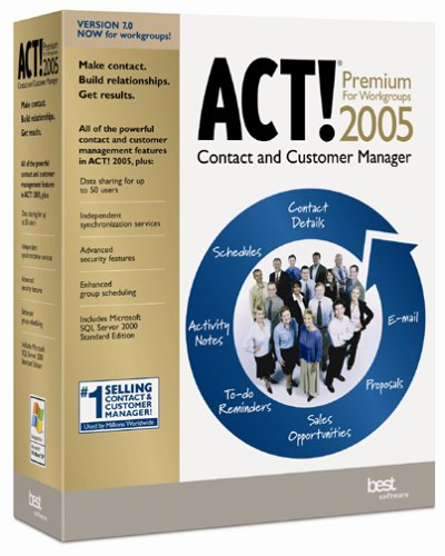 ACT! 2005 Premium for Workgroups Upgrade
