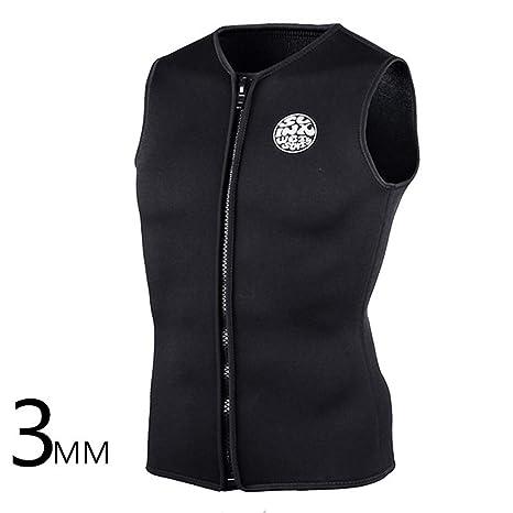 5d6223a673 Amazon.com  Wetsuit Top Vest Neoprene Sleeveless Diving Vest 3MM for ...