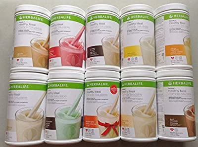 Herbalife Formula 1 Healthy Meal Nutritional Shake Mix (10 Flavor)