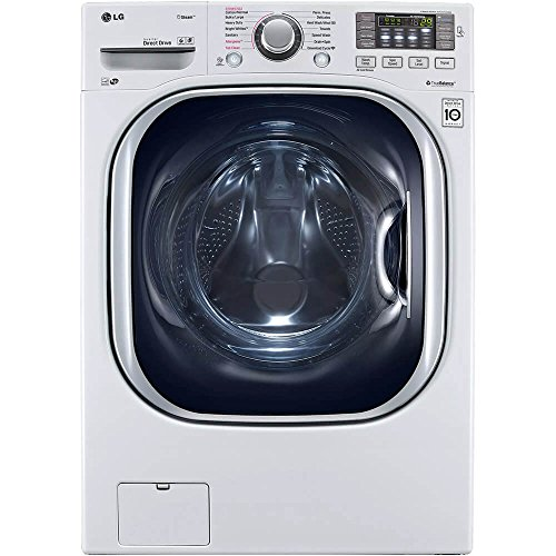 "LG WM4370HWA 27"" Front Load Washer with 4.5 cu. ft. Capacity, in White"
