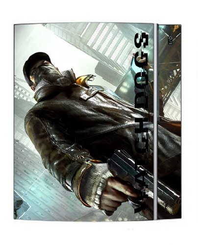 Watch Dogs Game Skin for Sony Playstation 3 Console (Dog Games For Ps3)