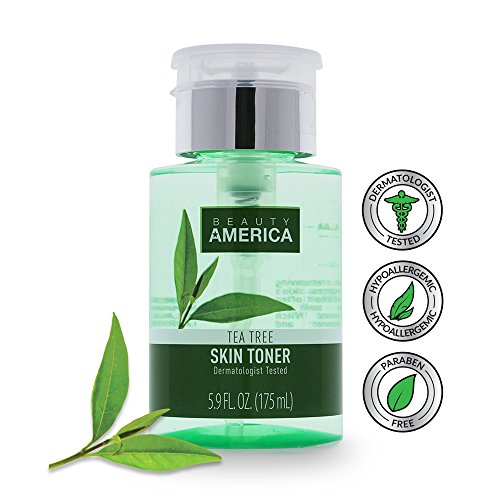 Beauty America Tea Tree Facial Toner, No-Leak, Push-Top Pump, 2 x 5.9 oz by Beauty America (Image #4)