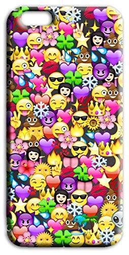 Mixroom - Cover Custodia Case In TPU Silicone Morbida Per Apple Iphone SE Q239 Emoticon Faccine
