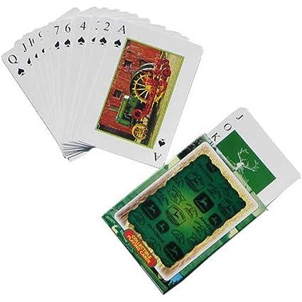 Amazon.com: John Deere Juego de cartas coleccionable: Sports ...