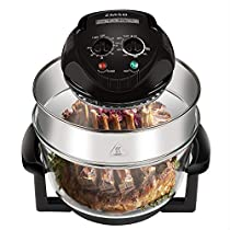 ZMSD Oil-less Air Fryer,Infrared Convection Halogen Oven