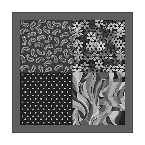 Mouchoir de poche de 100% polyester cm 30 x 30 Made in Italy Tessago 300054