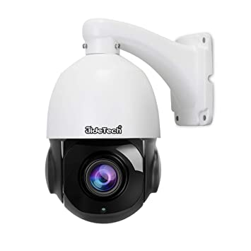 5MP PoE Security IP Low-Profile 3X PTZ Speed Dome Camera-Compatible as Hikvision 5MP Network PTZ Dome Camera 3X Zoom Lens Nightvision Indoor Outdoor Onvif IR Weatherproof PoE IP Free App,P2P,24//7 Recording Best for Home and Business Security