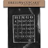 Dress My Cupcake DMCM004SET Chocolate Candy Mold, Bingo Card, Set of 6