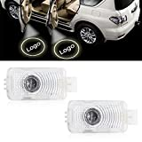 2x Car Door Step Welcome Projector Shadow LED Light for Acura RLX MDX TL ZDX ZDX