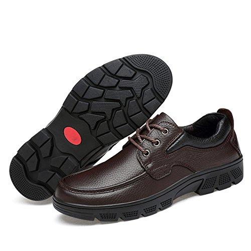 de de Opcional Jusheng los la Marrón Oxford Color la Manera Manera Terciopelo Moda de de EU Hombres 37 Informal Oxford de Casual tamaño la Marrón Caliente Zapatos Suave A71qcf70w