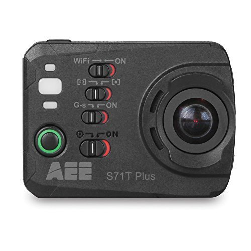 AEE Technology S71T Plus 4K 1080P 16MP HD - Slow Motion Video Camera