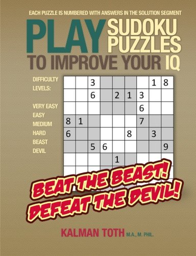Play Sudoku Puzzles to Improve Your IQ PDF