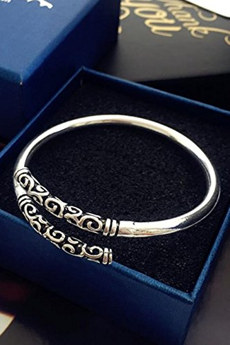 Generic Thai silver retro ethnic style fashion silver bracelet Thai Sun Wukong King Bar by Generic