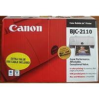 Canon BJC 2110 Color Bubble Jet Printer