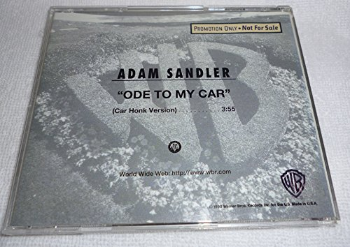 adam-sandler-ode-to-my-car-promo-cd-single-rare-edited-for-airplay-with-car-honks