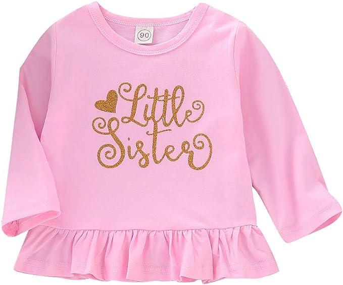 Julhold - Vestido de Fiesta de Manga Larga para niñas de 1 a 4 ...