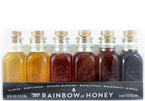 Trader Joe's Limited Edition Rainbow of Honey