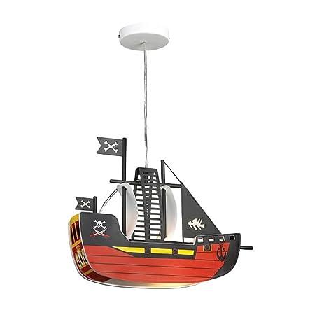 Children pendant light ceiling lamp fixture lamp kids pirate ship rabalux ship rab4719
