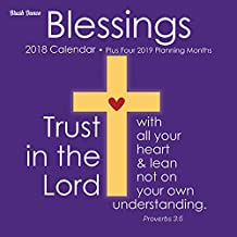 Blessings 2018 Wall Caelndar