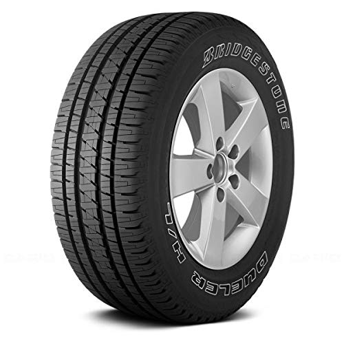 Bridgestone Dueler HL 265/70R16 Tire - Alenza+ with Outlined White Lettering - All Season - Performance, Truck/SUV, Fuel Efficient