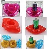 BABEE 7 Packs Inflatable Drink Float Pool Drink