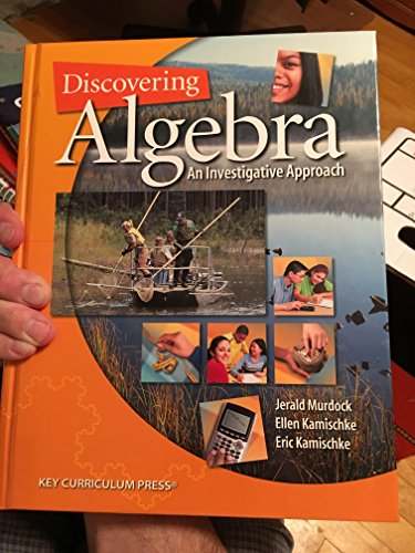Discovering Algebra: An Investigative Approach