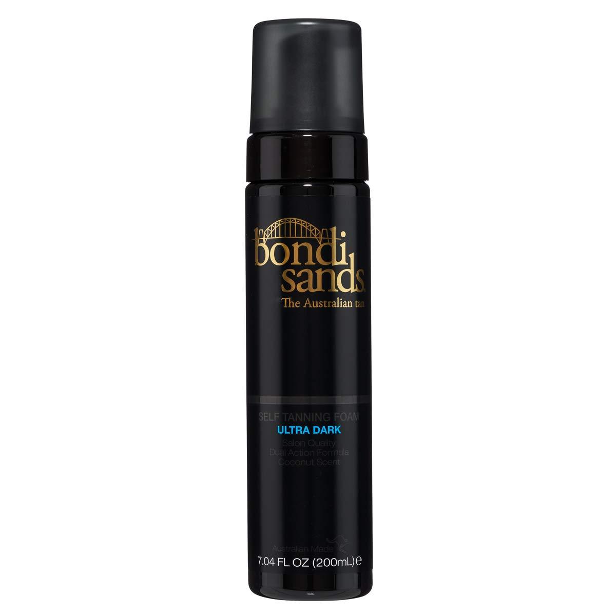 Bondi Sands Self Tanner Ultra Dark Foam- Self Tanner Mousse for Quick Sunless Tanning - Use For A Natural Looking Australian Golden Tan (7.04 FL OZ)