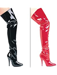 Fetish movies high boot thigh
