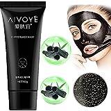 balckhead Black Peel Off Mask, CieKen AFY 60g Charcoal Balckhead Remover Mask,Deep Cleasing Facial Mask,Shrinking Pores,Brighten Skin
