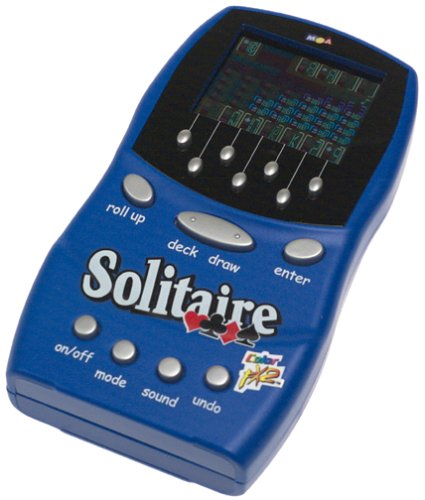 Game Mga Entertainment Handheld - Color Fx II 4 In 1 Handheld Solitaire Game by MGA
