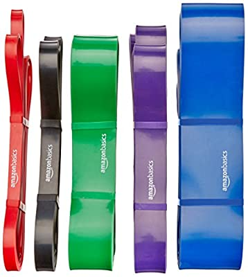 AmazonBasics Resistance and Pull Up Band by AmazonBasics