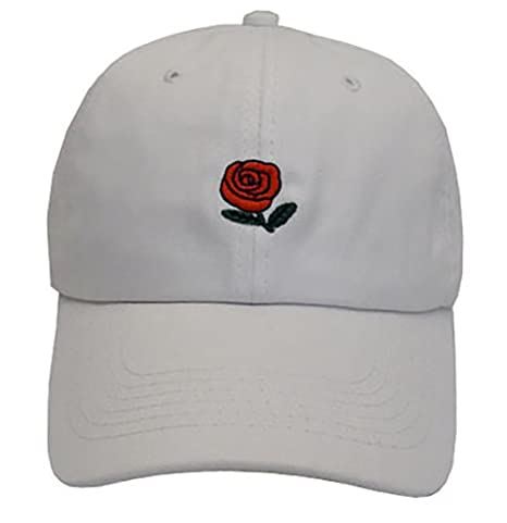 Buy White   VLUNT Plain Baseball Cap Unisex Rose Caps Adjustable Solid  Colors Hats Classic Plain Hip-hop Hat Online at Low Prices in India -  Amazon.in 7f8e9e1f178