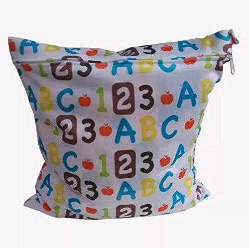 Bolsa de Pañales Reutilizable Bolsa con Cremallera Impermeable style.8