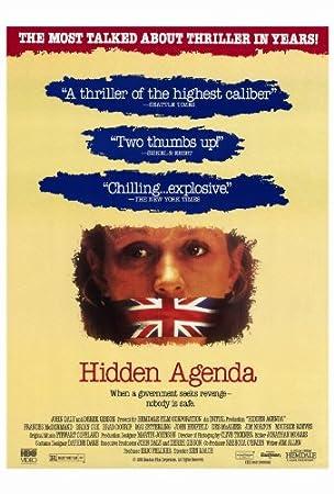 Agenda oculta Póster de película B 27 x 40 - 69 cm x 102 cm ...