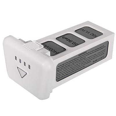 UPair One Bateria Inteligente de Vuelo, 11.1V 5400 mAH, Color Blanco: Deportes y aire libre
