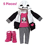 Adora Amazing Girls 18' Doll Clothes 'Panda Fun' (Amazon Exclusive)