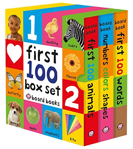 First 100 Board Book Box Set (3 books) ()