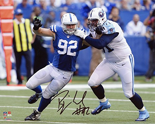 (Bjoern Werner Indianapolis Colts Autographed 8