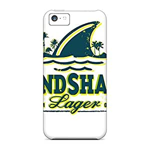 Hot Style mobile phone carrying covers for iphone 5cCases case iphone 5c case 6p - land shark WANGJING JINDA