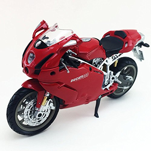 Ducati 999 New Ray 1:12 Scale Die-Cast Toy Collection Motorcycle Model - Logo Rays New