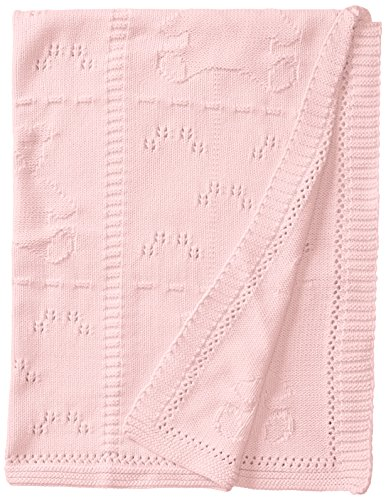 Widgeon Baby-Boys' Newborn Cotton Baby Blanket, Pink Bears, One (Widgeon Saras Prints)