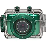 Vivitar DVR781HD HD Waterproof Action Video Camera Camcorder (Teal) with Helmet & Bike Mounts