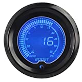 Car universally LCD Digital Display Boost Gauge 30-35psi With Turbo Sensor Boost Gauge