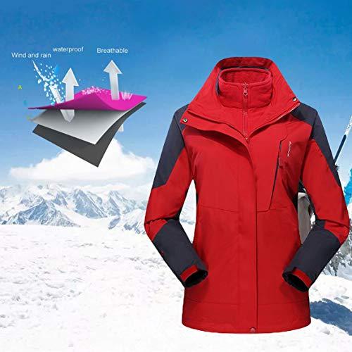 Hiver Manteau Delicacydex Intérieure Camping Trekking 3 couche Veste Ski Sport Unisexe Randonnée Polaire Pull Chaud Air En À Imperméable Vestes L'eau Plein tt4AF