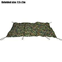 Life-Plus 2M x 4M Woodland Military Hunting Camping Tent Car Cover Oxford Camouflage Net