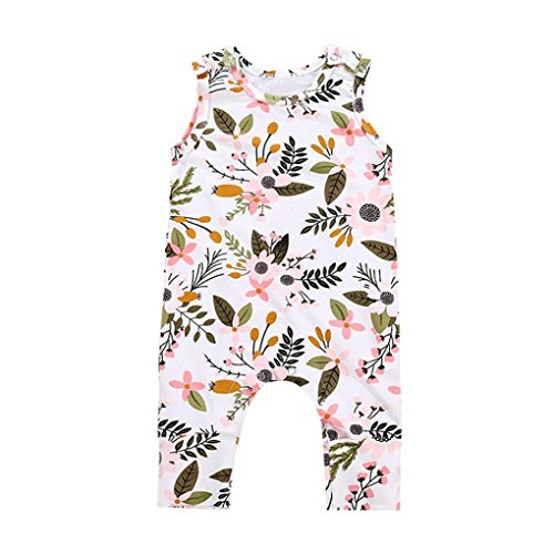 Toddler Infant Romper GoodLock Baby Boys Girls Floral Leaf P