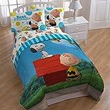 Peanuts Sunny Day Twin Comforter & Sheet Set Combo