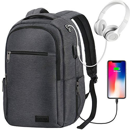 Travel Laptop Backpack, Anti Theft Business Computer Bag wit