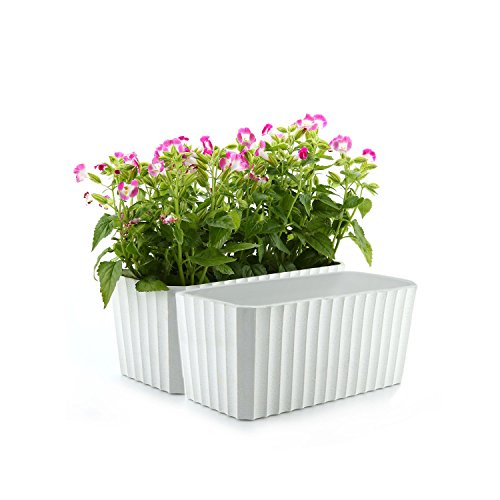 Compare Price Rectangular Plastic Plant Pots On